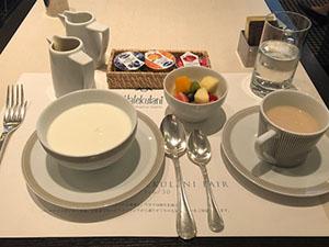 ホテルの朝ごはん