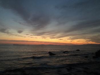 夏至の夜明け