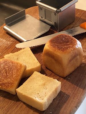 天然酵母パン作り