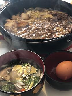 すき焼きとお雑煮